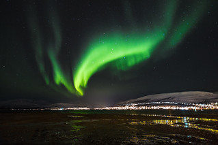 Kvaløysletta from Tromsø