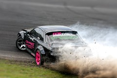 Dust and Smoke (2010kev) Tags: bdc drifting britishdriftchampionship thunderdrome