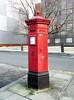 St Pancras Penfold (R~P~M) Tags: postbox pillarbox letterbox penfold victorian victoria vr camden london england uk unitedkingdom greatbritain