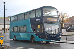 Arriva North East 7402 NK64FSG (Will Swain) Tags: whitby station 11th november 2017 bus buses transport travel uk britain vehicle vehicles county country england english north east arriva 7402 nk64fsg