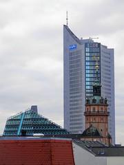 Leipzig (magellano) Tags: deutschland germania germany leipzig lipsia architettura architecture campanile bell tower grattacielo skyscraper cityhochhaus university università