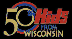 50th KIDS logo cropped (kidsfromwisconsin) Tags: kidsfromwisconsin kfw kids logo 50th 50 50years