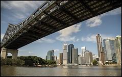 Travelling under Story Bridge-1= (Sheba_Also 42,000 photos incl non public) Tags: travelling under story bridge