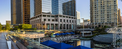 Cal Plaza at Sunrise (waterman1) Tags: dtla downtown losangeles pano hasselblad hasselbradx1d x1d xcd45mm