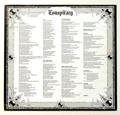 A0452 KING DIAMOND Conspiracy (vinylmeister) Tags: vinylrecords albumcoverphotos heavymetal thrashmetal deathmetal blackmetal vinyl schallplatte disque gramophone album