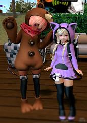 Mei and her belove Teddy <3 (Mei-Mei Chan) Tags: anime teddy cat neko girl cute cosplay