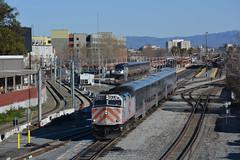 Caltrain 320 departing for Tamien (CN Southwell) Tags: caltrain f40 f40ph san jose california