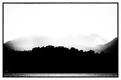Shades of Norway III (Dieter Gora) Tags: silhouette norway norwegen norge black white monochrome canon400mmf56