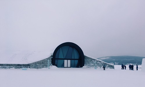 Winter adventures in Swedish arctic circle