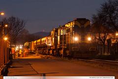 740.844-6 | trať 331 | Želechovice n.Dř. (jirka.zapalka) Tags: train trat331 rada740 awt autumn zelechovicenaddrevnici night czech