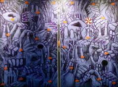 Sweet Revolution (2015) - Gonçalo Mar (pedrosimoes7) Tags: avantexixbiennal 2015 gonçalomar graffiti streetart ✩ecoledesbeauxarts✩ artgalleryandmuseums expression