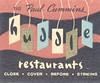 The Paul Cummins Huddle Restaurants - La Cienega, Pasadena & Crenshaw-Imperial, California (The Cardboard America Archives) Tags: googie paulcummins vintage restaurant midcentury matchbook california