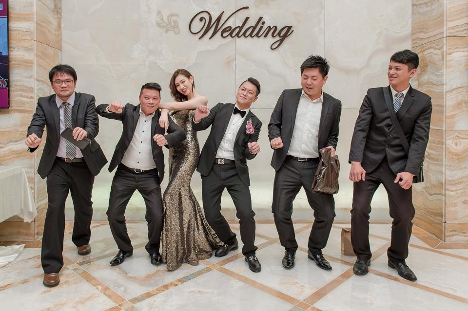 婚攝 高雄林皇宮 婚宴 時尚氣質新娘現身 S & R 167