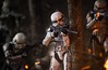 Forest Skirmish (Worn Out Trooper) Tags: starwars fire explosion actionfigure outdoors outdoor nature explore