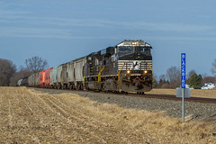 NS Local K64 @ Clayton, DE (Darryl Rule's Photography) Tags: 2018 branch dcr delaware delmarvacenrtral diesel diesels emd freight freightcar freighttrain freighttrains ha1 interchange january k64 ns norfolksouthern pc prr penncentral pennsy pennsylvaniarailroad railroad railroads sd403 shortline sun sunny traintrains winter