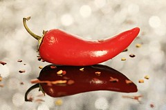 Hot & Spicy (Cindy's Here) Tags: hotspicy hotpepper pepper spicy spices macro canon bokeh ansh scavenger9