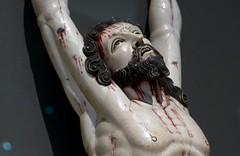 Crucified Christ, c.1700, Goa, India (jacquemart) Tags: thevictoriaandalbertmuseum london crucifiedchrisy c1700 goa india