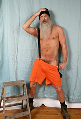 Half Naked House Work ! (Cowboy Tommy) Tags: cleaning housework suspender sexpender gym legs armpit shirtless musscle muscles lanky bush manscape pubes pubichair pokingout crotch bulge sex sexy beard hairy fur furry scruffy sweaty dirty boots bluecollar nipples halfundressed baggies nylonshorts