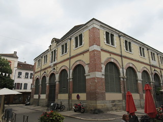 Halle de Cahors, market hall at Place Saint-Maurice, Cahors, France