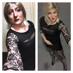 Same dress a whole year apart 2017-2018 what a difference a year makes thankyou all (emma_jay_park) Tags: femme stockings emmajay blonde boytogirl boy2girl xdressing xdress xdresser crossdress crossdressing crossdresser tgurl tgirl transsexual transvesite trans tv cd