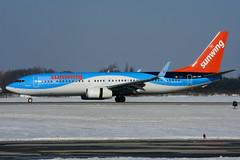 OO-JAV (Sunwing Airlines) (Steelhead 2010) Tags: sunwingairlines tuifly boeing b737 b737800 yhm ooreg oojav