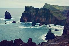 coastline (blueandyou.photography) Tags: madeira portugal stones steine outdoor landschaft landscape klippen cliffs natur nature blueandyouphotography nikon bay bucht sky himmel island coast küste blue