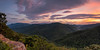 Shenandoah Sunset (Travis Rhoads) Tags: 2015 canoneos5dmkii canonef1740f4l gitzogt2830basaltseries2 rrspcl01 clouds landscapephotography mountains nationalpark nikcollectionbygoogle panorama sunset trees copyright2015 travisrhoadsphotography virginia shenandoahvalley blueridgeparkway