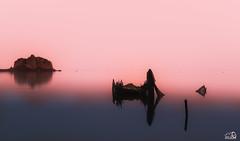 Delta del Ebro (JesusLobato) Tags: largaexposicion degradado deltadelebro delta ebro nikond3100 paisaje diurno niebla amanecer amaneceres filtros lucroit nd10 barcas
