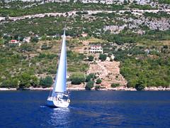 Croatia (ow54) Tags: croatia kroatien yacht boat boot adria meer mittelmeer mediterranean island insel segeln sailboat sailing ufer coast