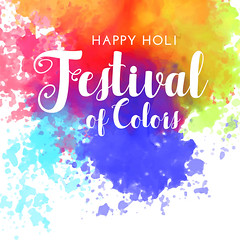 happy holi festival of colors background (bhaveshk.garg) Tags: holi festive festival hindu india greeting card design background happy fun party colors colour colorful enjoy poster invitation basant splash watercolor gulaal asian celebration culture religion faith gulal vibrant rang holiday tradition occasion banner