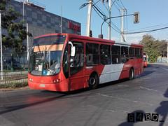 Express de Santiago (G4bo__) Tags: caio mondego marcopolo gran viale volvo b7rleo5oou b9salf transantiago subus express redbus quilicura zapadores ohiggins