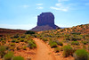 Path towards Merrick Butte, Monument Valley, USA (Andrey Sulitskiy) Tags: usa arizona monumentvalley