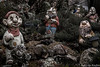 Fear the Walking Dwarves (Nicolas Rouffiac) Tags: nain nains dwarf dwarves statue statues jardin garden fear peur terreur terror