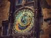 Astronomical clock. (Fotofricassee) Tags: colorsinourworld architecture wall league astronomical planets sun historyantiquities