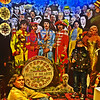 Sgt. Peppers (t.horak) Tags: beatles sgt pepper lonely heart club band hippies 60s people group faces heads celebrities