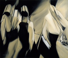 Abstracto Stress (Ofillarts.com) Tags: art abstractostress ofillechevarria oiloncanvas threesome articon blur businesspeople