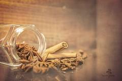 Anís y canela. (Chaguaceda Fotografias) Tags: especias anis canela still bodegones marrón aromas 7dwf