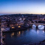 Blue hour in Rome thumbnail