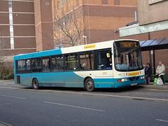 Midland Classic 106 Burton (Guy Arab UF) Tags: midland classic 106 bf52nzs daf sb200 wright commander bus burton upon trent new street staffordshire buses arriva 3706