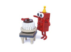 60 years of the LEGO® brick (svenfranic) Tags: lego 60years brick cake birthday toys