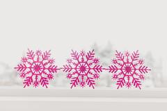 Pink snowflakes (Melnee Benfield) Tags: pink snowflakes dof canon ohio winter pastel soft