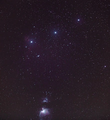 Orion constellation and Orion Nebula (Tim Bow Photography) Tags: timbowphotography timboss81 wales swansea darkskieswales darkskies astrophotographywales astrophotouk skyatnight flamenebula orionnebula  starglow northern sky over astro gardenastrophoto nebula