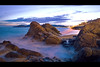 2018-02 - cannes la bocca 2 [explore] (g_dubois_fr) Tags: sunset french riviera beach seascape mer mediterranée cannes long exposure skyporn
