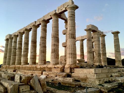Temple of Poseidon, Cape Sunion, Greece
