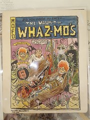 """WHAZ-MO'S COVER ART. BOOK THAT NEVER HAPPENED.  $135. • <a style=""""font-size:0.8em;"""" href=""""http://www.flickr.com/photos/51721355@N02/38730208405/"""" target=""""_blank"""">View on Flickr</a>"""