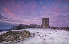 Winter Folly (Captain Nikon) Tags: oldjohnstower folly bradgatepark leicestershire dawn sunrise winter snow frost england uk greatbritain