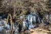 ICY VICKERY CREEK (The Suss-Man (Mike)) Tags: bigcreek dam frozen fultoncounty georgia ice longexposure roswell roswellmill slowshutterspeed sonyilca77m2 sussmanimaging thesussman vickerycreek waterfall reflection