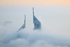 I N V A S I O N (ZulfiPhoto) Tags: fog dubai architecture nature climate weather rooftop minimalism