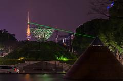Nagoya Laser Show (andythomas390) Tags: laser nagoya tvtower night boat japan nikon d7000 18200mm