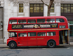 Stagecoach RM2071 (cybertect) Tags: 15 15h aec aecroutemaster alm71b aldwych carlzeissplanart50mmf17 london londonwc2 londonbus routemaster sonya7 stagecoach wc2 bus doubledecker route15 terminus